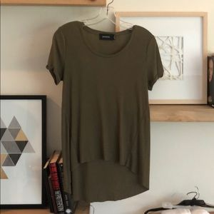 Ribbed Olive Minkpink Top